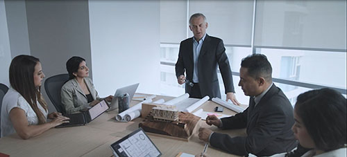 Screenshot of a video about executive stakeholders
